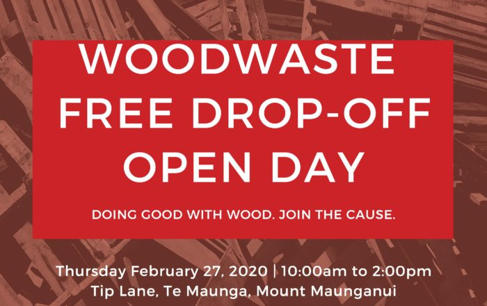 Woodwaste Free Drop-Off Open Date